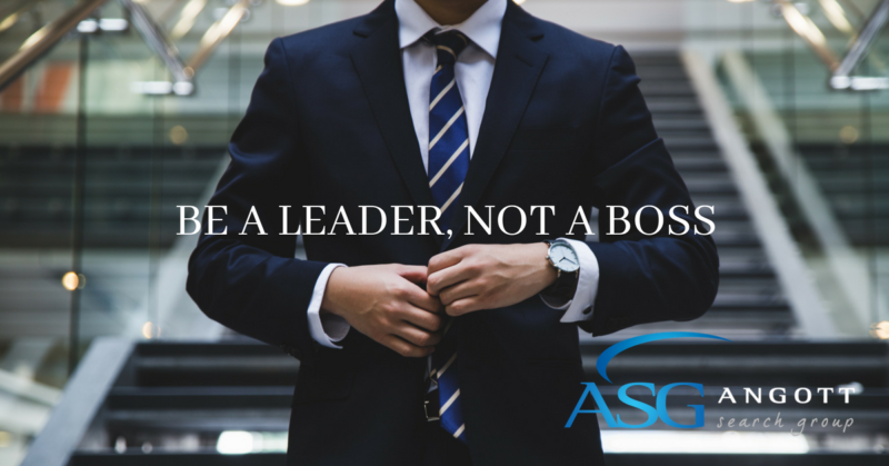 BE an Leader