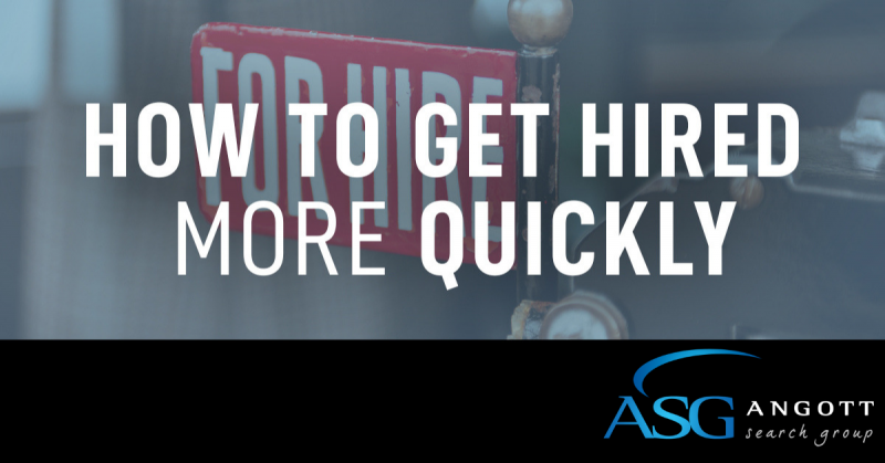 Get Hired Quickly 10.21.19